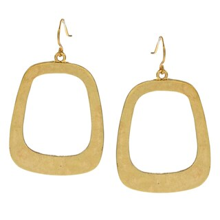 Kenneth Cole Goldtone Hoop Earrings