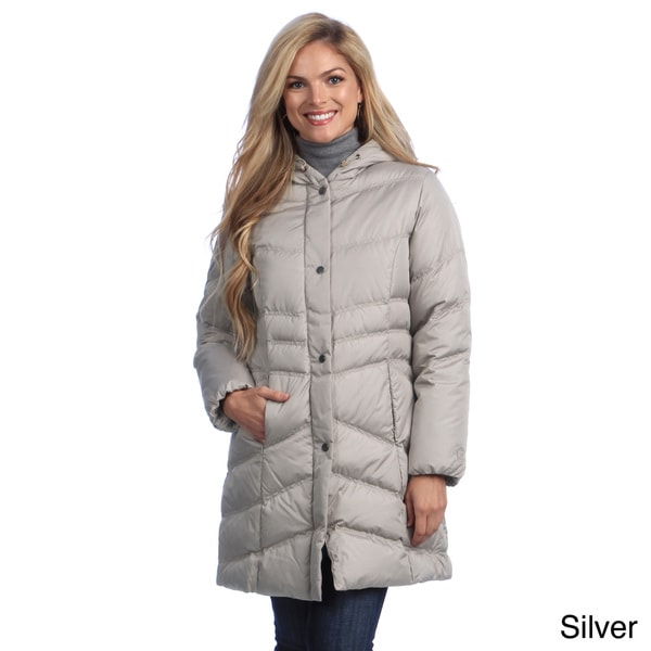 Mackintosh Women's Hooded Water Resistant Down-filled Coat