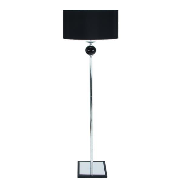 Casa Cortes Euro Loft 67-inch Metal Floor Lamp with Square Metal Base