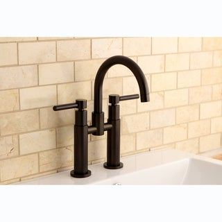 Bridge Oil Rubbed Bronze Bathroom Faucet