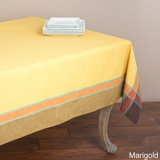 Saro Provencal Design Rectangular Tablecloth