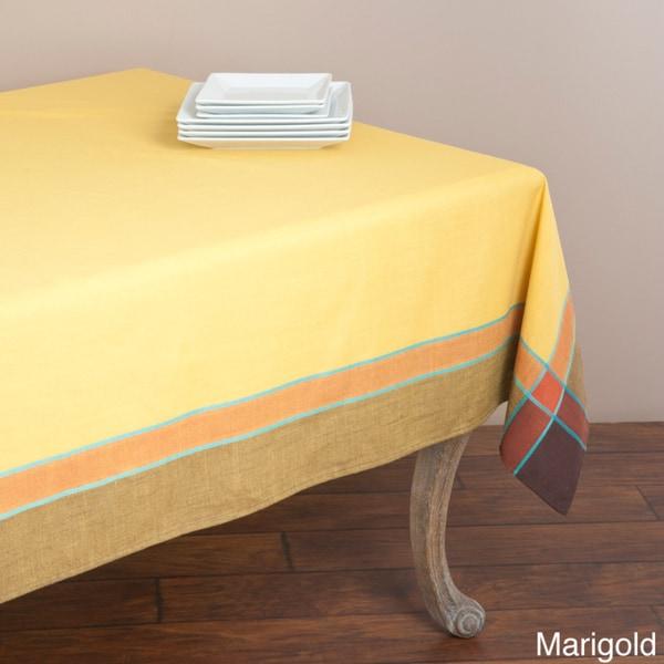 Saro Provencal Design Rectangular Tablecloth