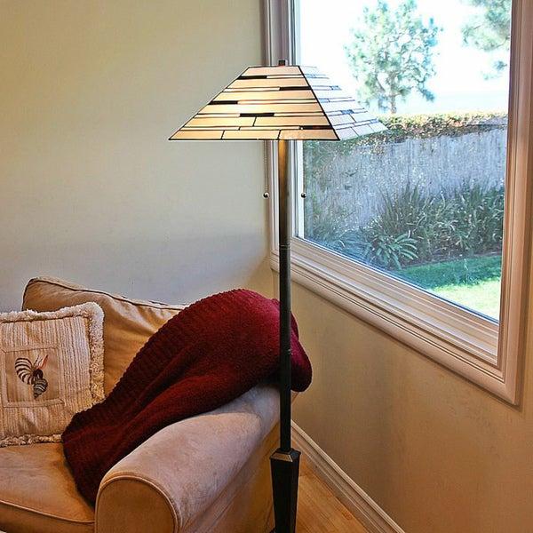 Tiffany Style Contemporary Floor Lamp