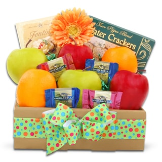 Simply Fresh Fruits and Treats Gift Box