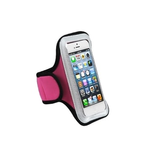 MYBAT Hot Pink Running Sport Gym Armband Case for Apple? iPhone 5