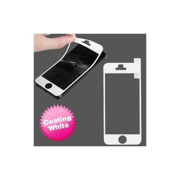 INSTEN White Coating LCD Screen Protector Cover for Apple iPhone 5