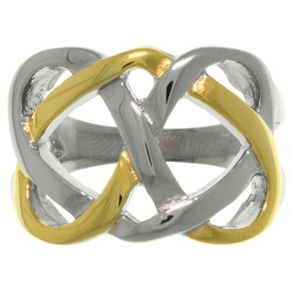 Carolina Glamour Collection Stainless Steel Celtic Knot Ring
