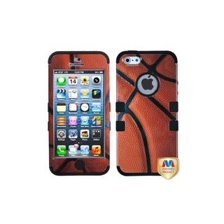 INSTEN Basketball Rubber TUFF Hybrid Phone Case Cover Skin for Apple iPhone 5