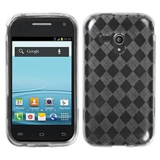 MYBAT Clear Argyle TPU Gel Case Skin for Samsung� M830 Galaxy Rush