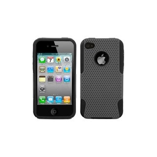 ASMYNA Grey/ Black Astronoot Case for Apple iPhone 4/ 4S