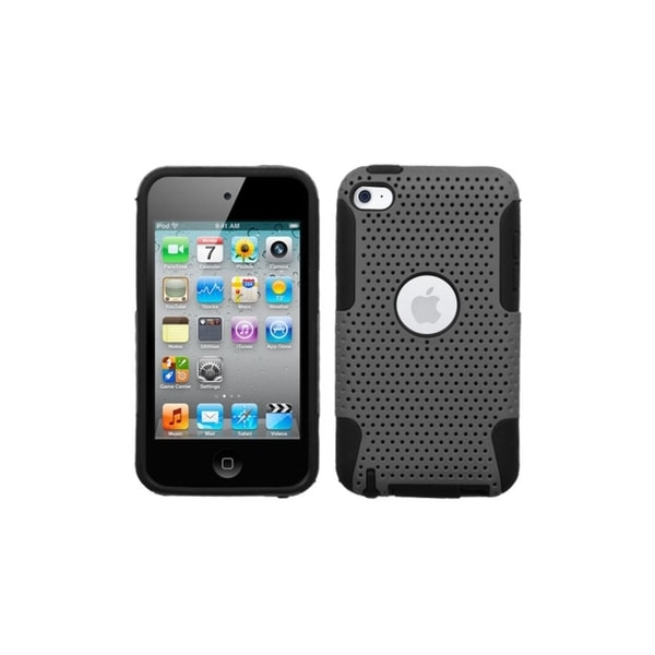 ASMYNA Grey/ Black Astronoot Case for Apple iPod Touch Generation 4
