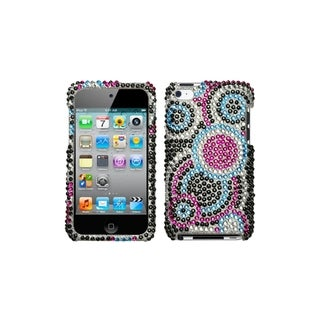 MYBAT Bubble Diamante Cover for Apple� iPod Touch Generation 4