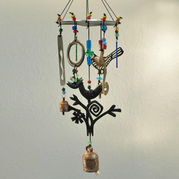Birds on a Wire Wind Chime (India)