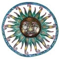 Handmade 'Painted Sun' 24-inch Wall Art (Haiti)