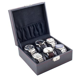 Compact 6-watch Display/ Storage Case