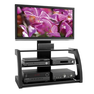 Sonax ML-1450 Milan Hybrid Midnight Black TV Stand