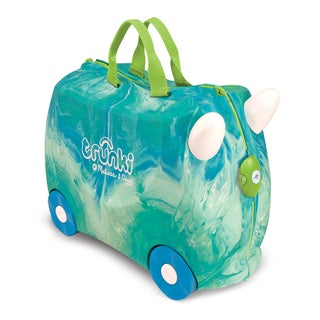 Melissa & Doug Trunki Swizzle Blue/ Green Luggage Toy