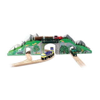 Melissa & Doug Mountain Bridge and Tunnel Set
