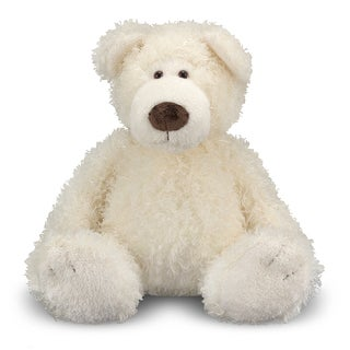 Melissa &amp; Doug Big Vanilla Roscoe Bear