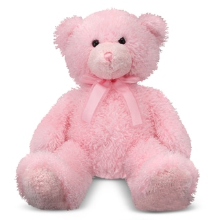 Melissa & Doug Cotton Candy Pink Teddy Bear