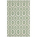 Safavieh Hand-woven Moroccan Reversible Dhurrie Ivory Wool Rug (5' x 8')
