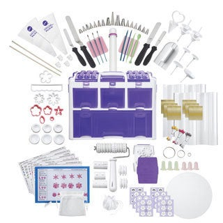 Wilton Ultimate Professional Cake Decorating Caddy (177 Pieces)