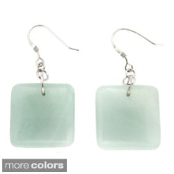 Pearlz Ocean Sterling Silver Amazonite, Jasper or Sodalite Earrings