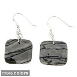 Pearlz Ocean Square Bead Earrings