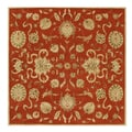 Hand-tufted Alliyah Delhi Rusty Orange New Zealand Wool Rug (10' x 10')