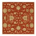 Alliyah Handmade Rust New Zealand Blend Wool Rug (10' x 10')