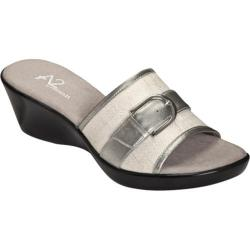 Women's A2 by Aerosoles Eyes On You Silver Combo