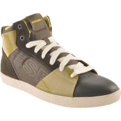 Men's Diesel Brandster G-Top Olive Night/Yellow Fluo