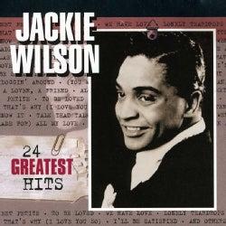 JACKIE WILSON - 24 GREATEST HITS