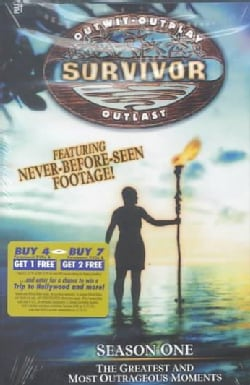 Survivor Season 1: The Greatest & Most Outrageous Moments (DVD)