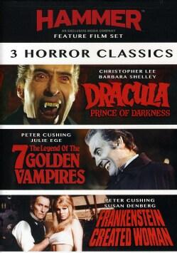 3 Film Hammer Horror Set (DVD)
