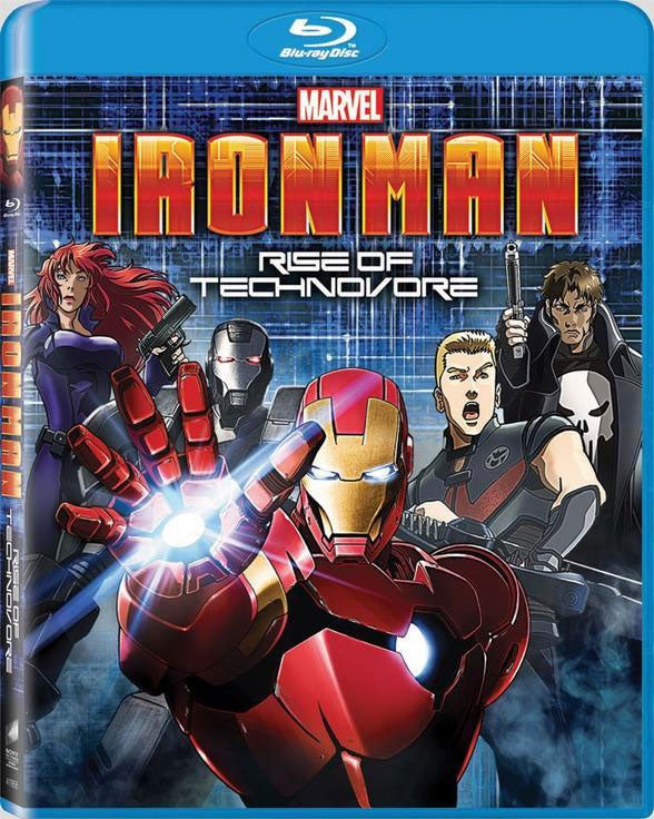 Iron Man: Rise of The Technovore (Blu-ray Disc)