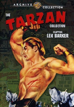 The Tarzan Collection Starring Lex Barker (DVD)