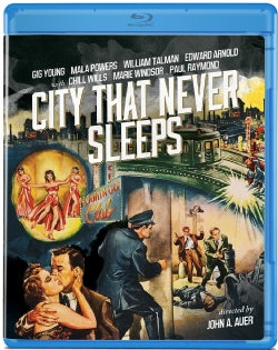 City That Never Sleeps (Blu-ray Disc)