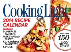 Cooking Light 2014 Recipe Calendar (Calendar)