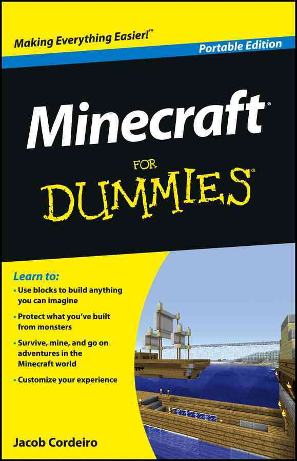 Minecraft for Dummies, Portable Edition (Paperback)