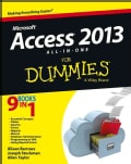 Access 2013 All-in-One for Dummies (Paperback)