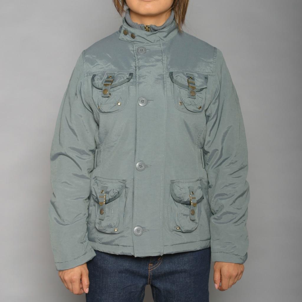 Alpha Industries Women's Kara Gunmental Jacket