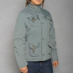 Alpha Industries Women's Kara Gunmental Jacket