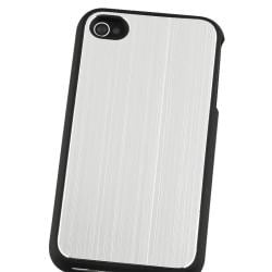 Silver Brushed Aluminum Snap-on Case for Apple iPhone 4