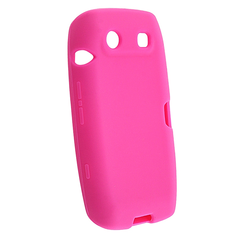 Hot Pink Silicone Skin Case for BlackBerry Torch 9850/ 9860