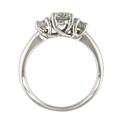 14k White Gold 1ct TDW Certified Clarity-Enhanced Diamond Ring (G-H, SI1)