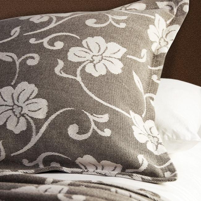 Isadora Khaki Matelasse Pillow Sham