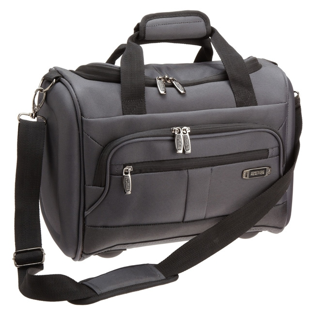 Kenneth Cole Reaction Grey Triple Cross 16-inch Carry-on Tote Bag