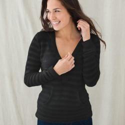 Black Zen Hoodie Sweater (Peru)
