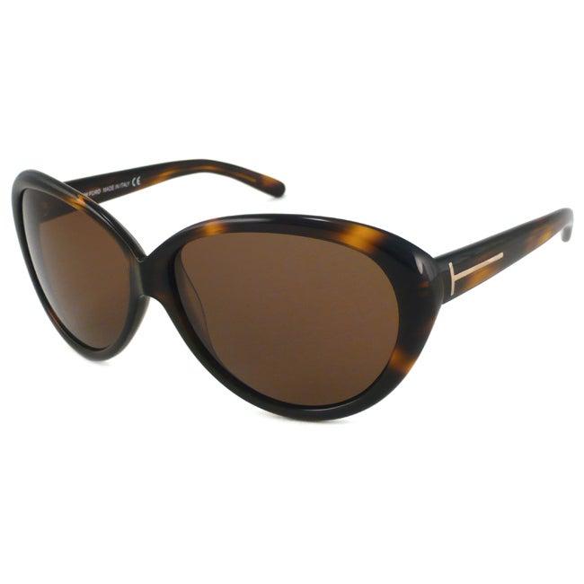 Tom Ford TF0168 'Annabelle' Women's Aviator Sunglasses